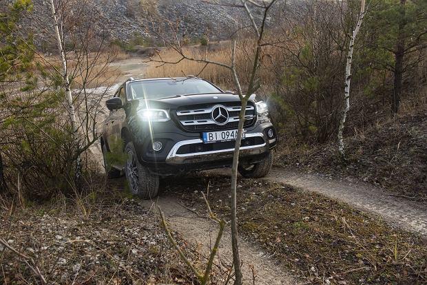Nowy Mercedes Klasy X