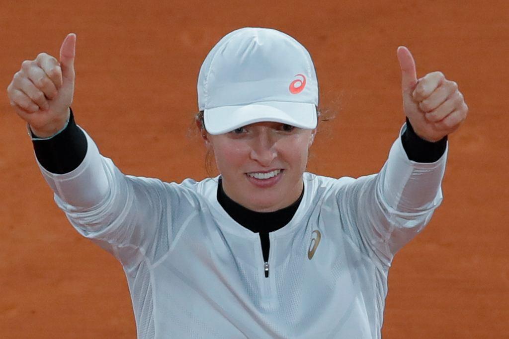 French Open. Iga Świątek w ćwierćfinale z Martiną Trevisan. Roland Garros, Paryż, 6 października 2020