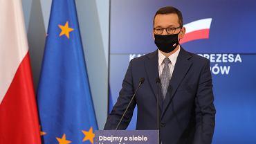 Premier Morawiecki na kwarantannie. Miał kontakt z osobą zakażoną