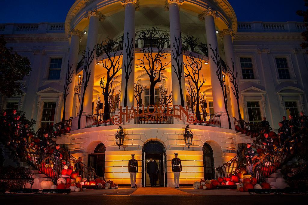 Halloween w Białym Domu.