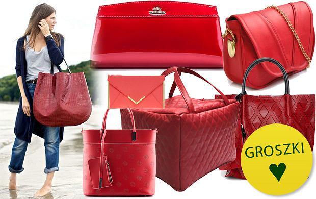 Czerwone torebki - ponad 50 propozycji