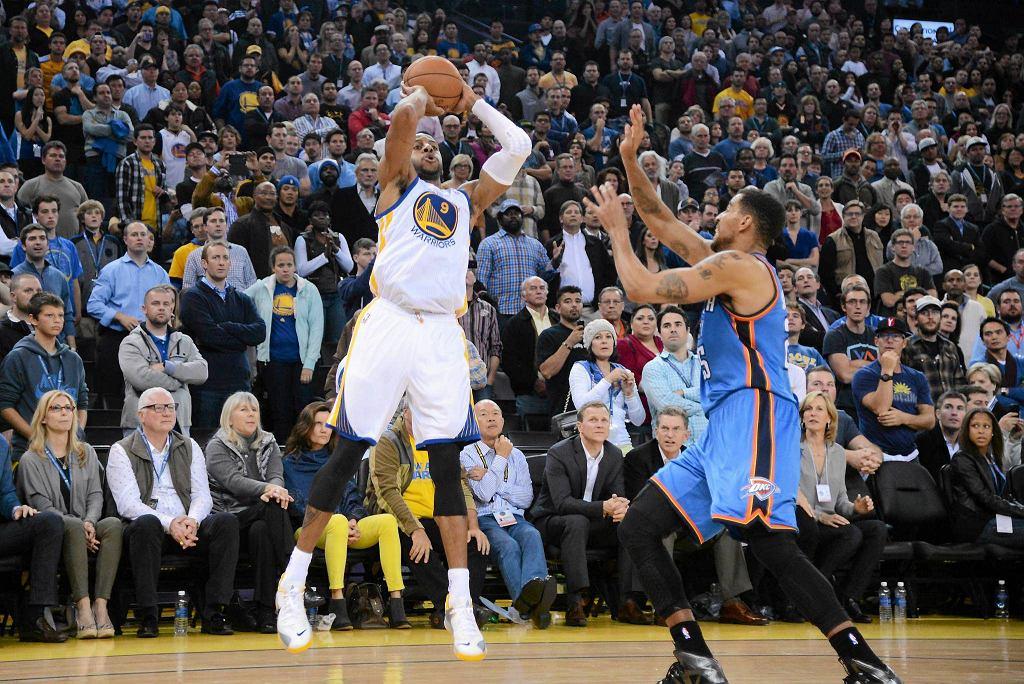 Andre Iguodala daje zwycięstwo Warriors w ostatniej sekundzie