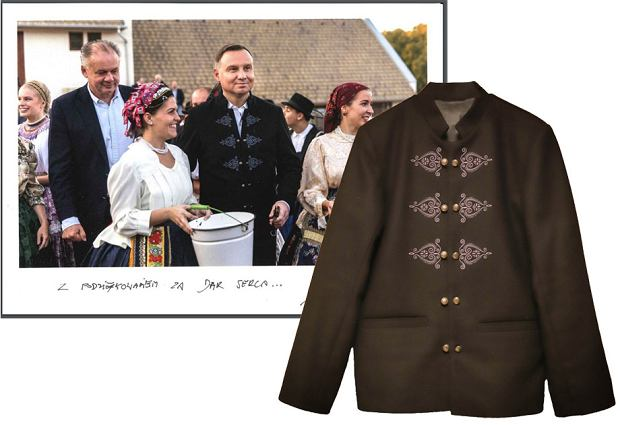 Słynna góralska kurtka Andrzeja Dudy teraz do kupienia na aukcji WOŚP