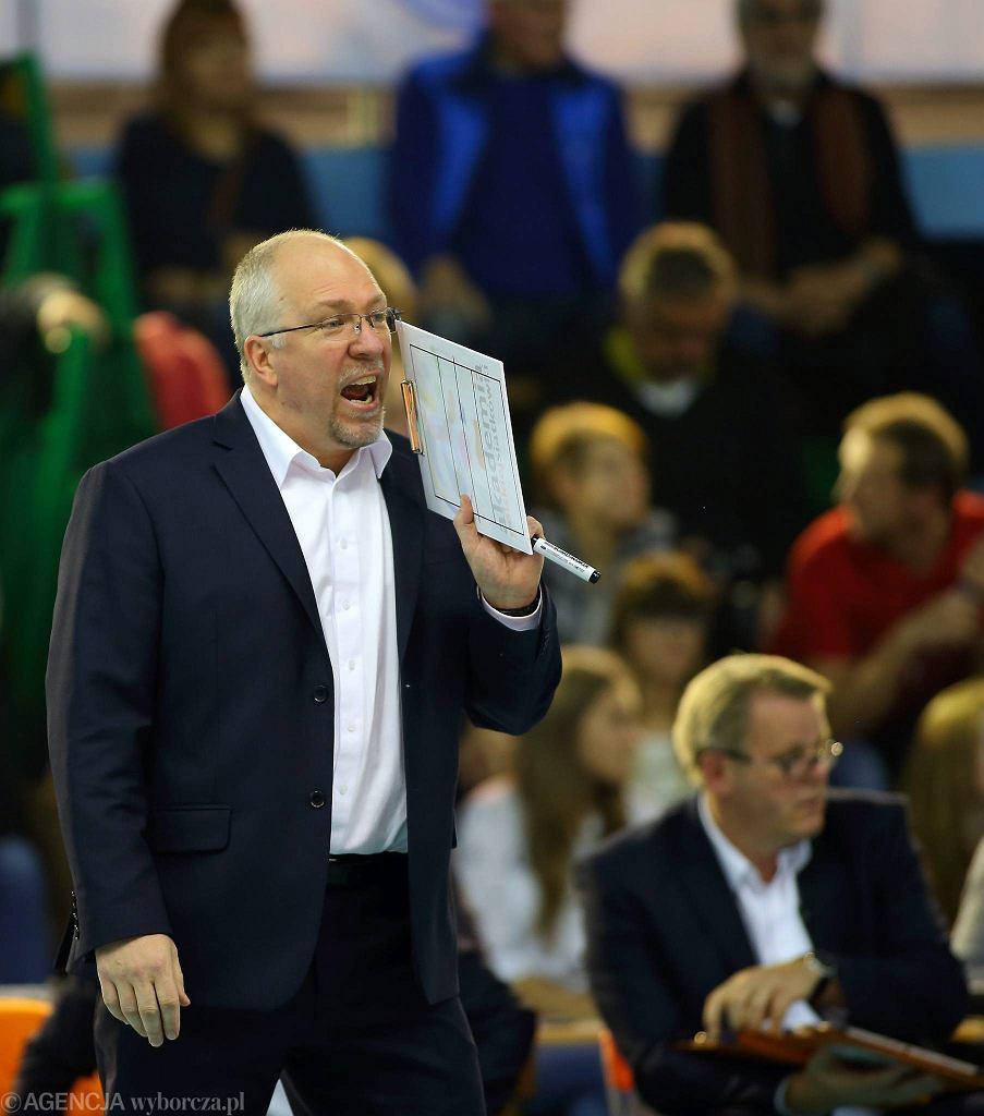 Trener Mark Lebedew