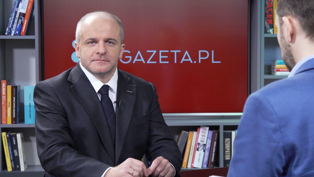 Paweł Kowal w Porannej Rozmowie Gazeta.pl