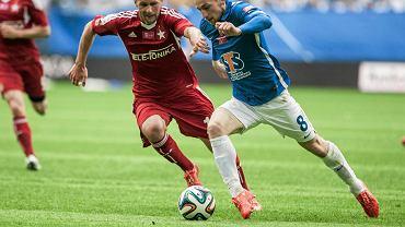 Lech Poznań - Wisła Kraków 0:0. Szymon Pawłowski