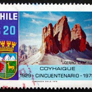 znaczek pocztowy Chile