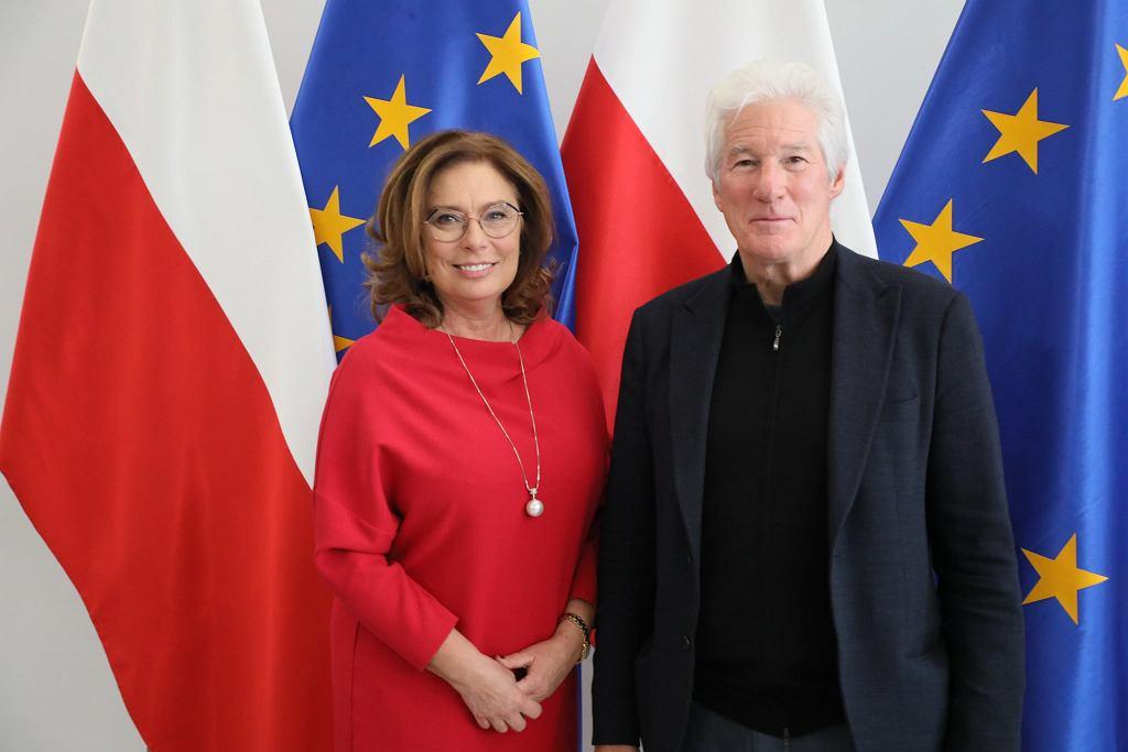 Richarde Gere odwiedził Sejm