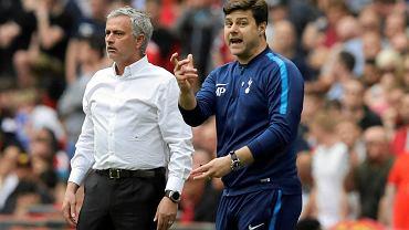 Jose Mourinho i Mauricio Pochettino - nowy i stary trener Tottenhamu