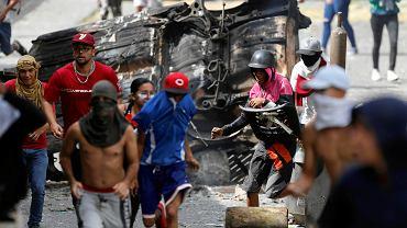 Antyrządowe zamieszki w Caracas, 21 stycznia 2019 r.