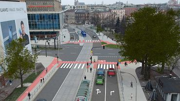 Projekt przebudowy ul. Kościuszki.