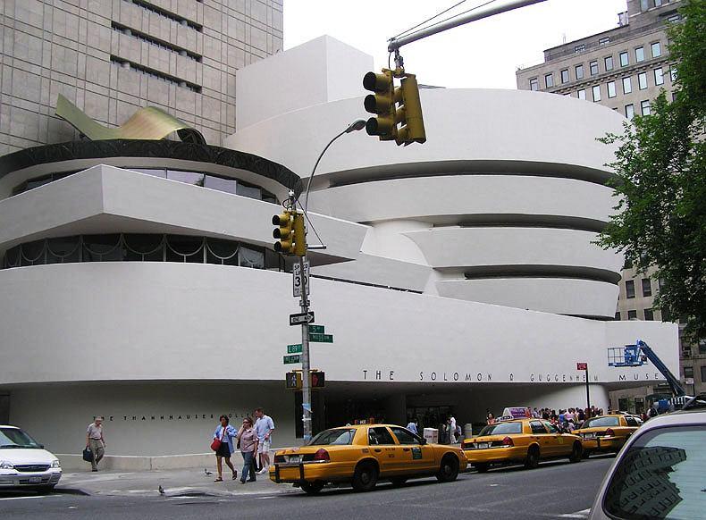 Muzeum Guggenheima w Nowym Jorku, projekt Franka Lloyd Wrighta / Wikimedia Commons