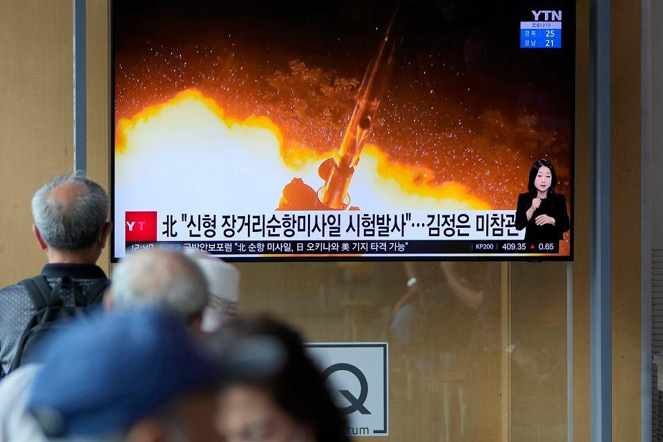 Korea Północna wznowiła testy rakiet.