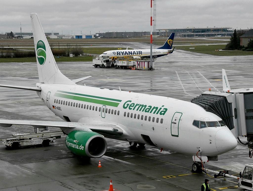Linie Germania ogłosiły bankructwo