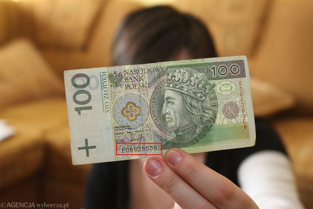 Banknot stuzłotowy