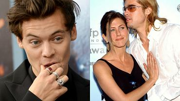 Harry Styles, Jennifer Aniston, Brad Pitt