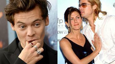 Harry Styles, Jennifer Aniston, Brad Pitt