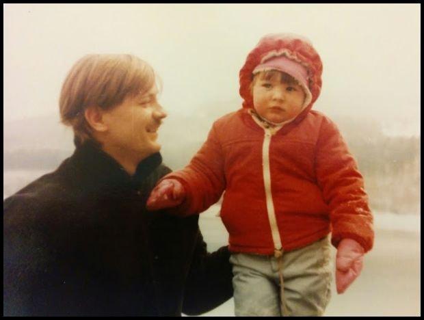 Tata i ja, Wisła, dawno, dawno temu, w odległych latach 80`