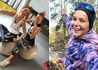 Paulina Sykut-Jeżyna znów trenuje. Tym razem pokazała ćwiczenia z piłką i obciążeniem. Można wykonać je także w domu