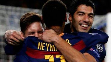 Lionel Messi, Neymar i Luis Suarez