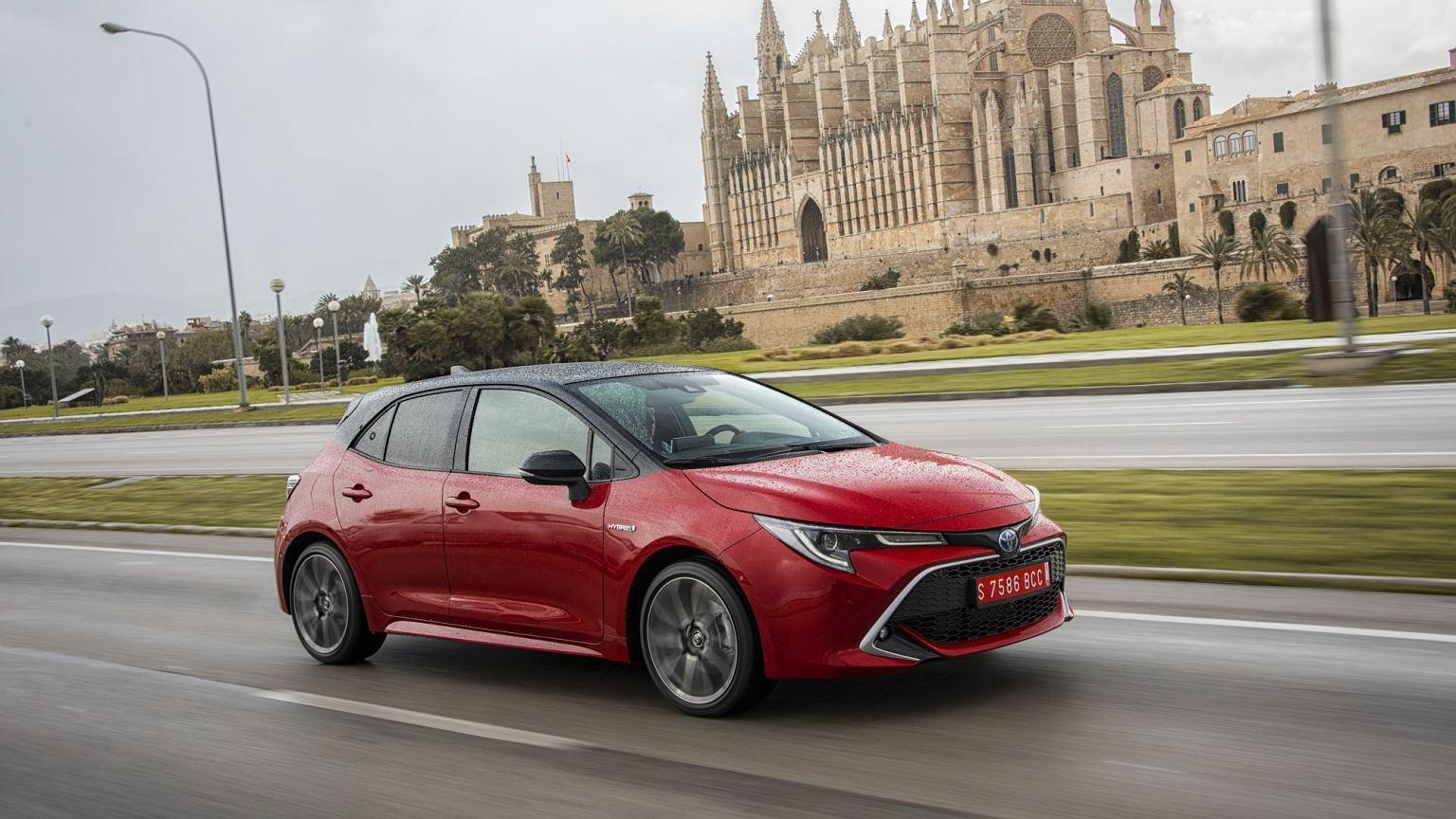 Super Nowa Toyota Corolla 2019 - opinie, wrażenia z jazdy EG65
