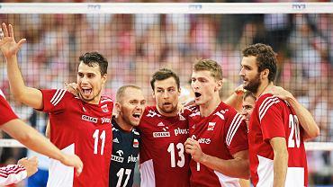 JMecz Polska - Rosja w Lodzi . Mistrzostwa Swiata w Siatkowce Mezczyzn 2014