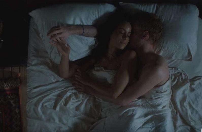 Screen z filmu 'Harry & Meghan: A Royal Romance'