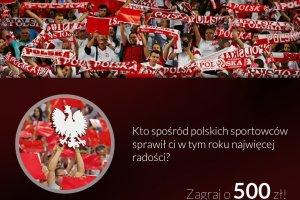Konkurs. Przypomnij sobie rok polskich sukcesów i wygraj 500 złotych
