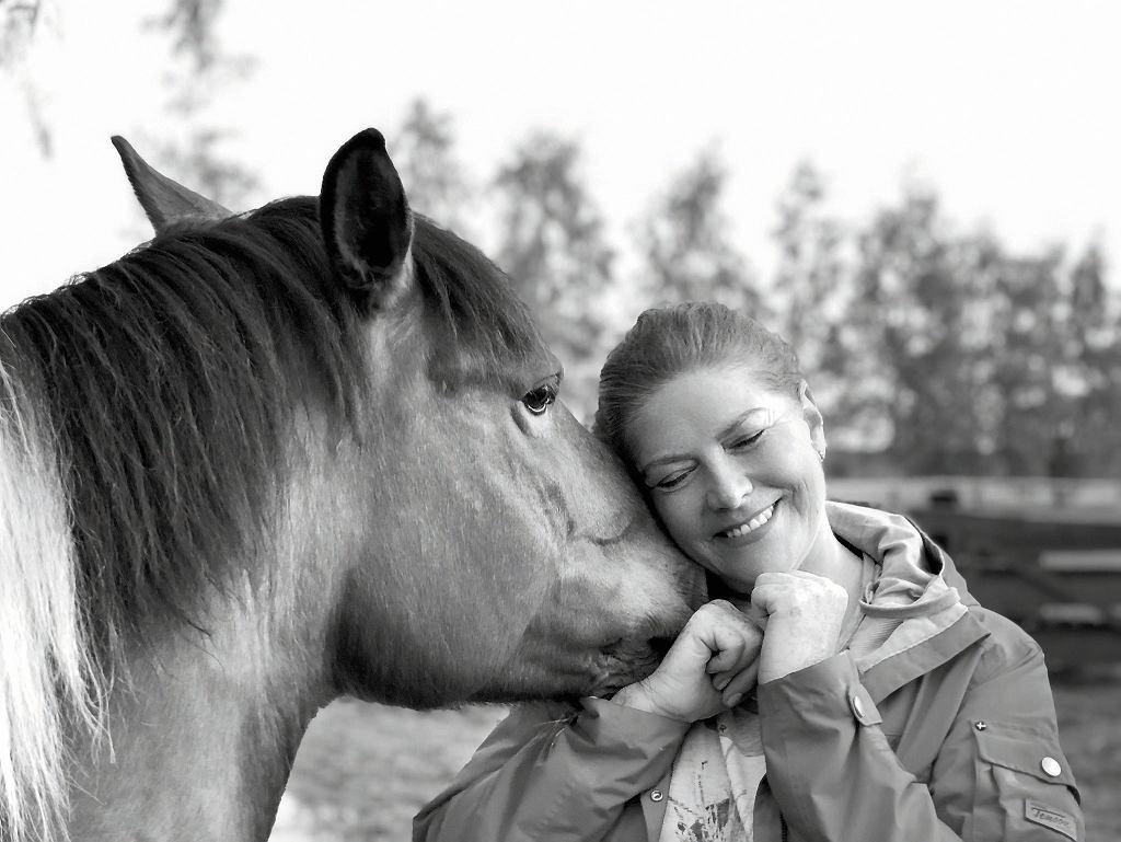 Katarzyna Dowbor uwielbia konie