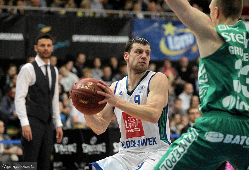 Finał Pucharu Polski w koszykówce Stelmet BC Zielona Góra wygrał z Anwilem Włocławek