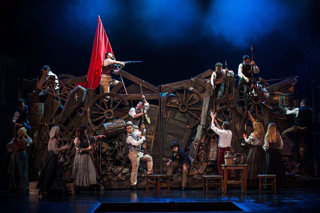Les Miserables, Teatr Muzyczny w Łodzi / Foto MICHAL MATUSZAK