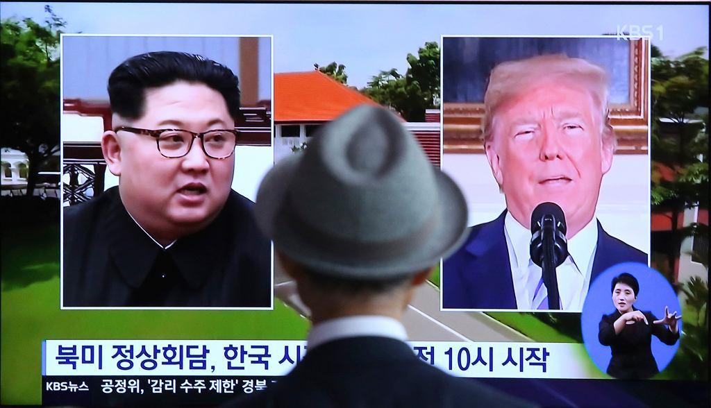 Przed spotkaniem Donald Trump - Kim Dzong Un