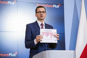 Morawiecki: Budżet nie jest z gumy, deficyt wzrośnie. Pokazuje wykres z czasów rządów PO