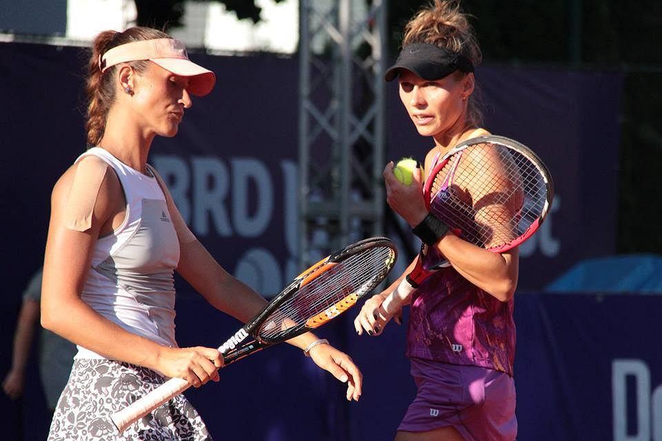 Alexandra Cadantu i Katarzyna Piter