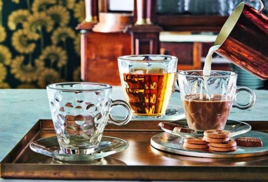 Szklanki do akwy i herbaty od marki Bormioli Rocco