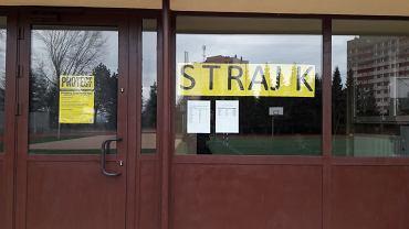 Szkoła Podstawowa nr 31 w Rzeszowie. Strajk nauczycieli