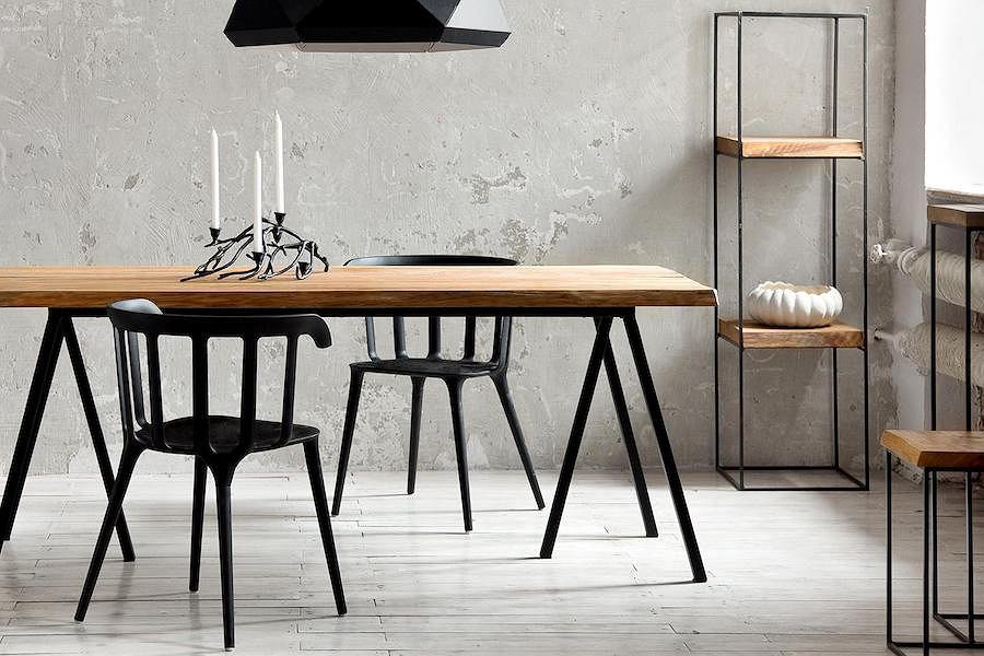 Industrialne meble z kolekcji Loft od polskiej marki Caya Design