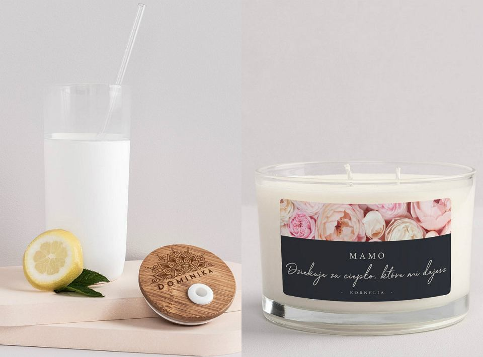 Kubki i świece zapachowe na prezent