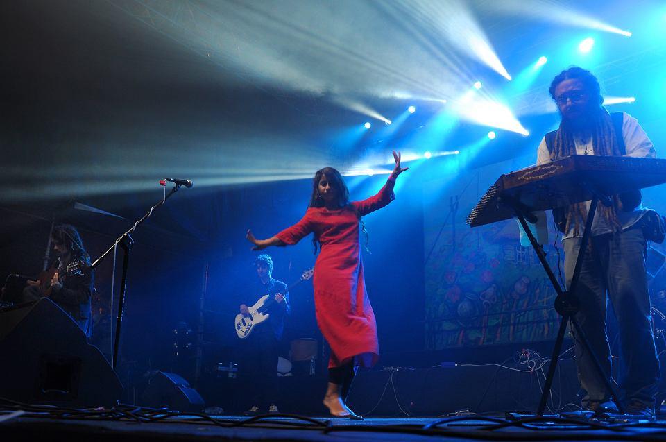 Festiwal folkowy w Czeremsze. Light in Babylon z Turcji