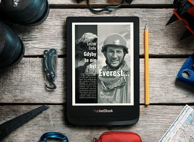 Książka 'Gdyby to nie był Everest...' w formie e-booka.