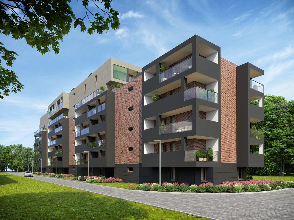 Wizualizacja inwestycji Zbożowa 2A Apartamenty