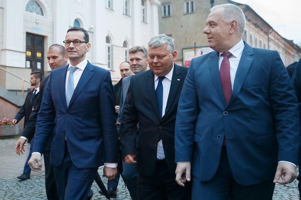 Mateusz Morawiecki, Marek Suski, Jacek Sasin