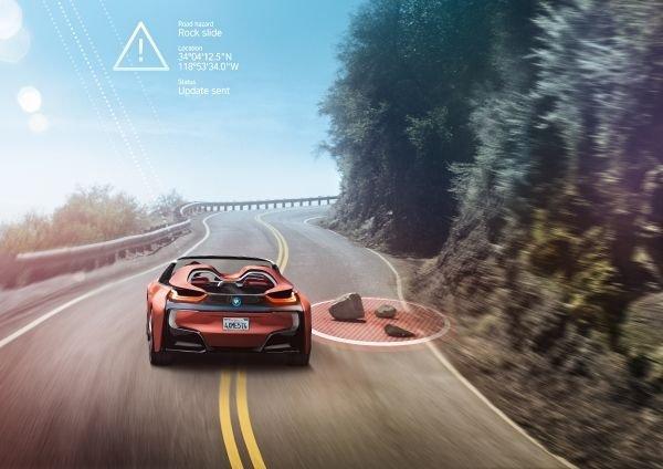 BMW i8 Spyder - Koncept