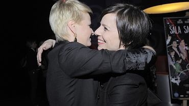 Małgorzata Kożuchowska i Agata Kulesza