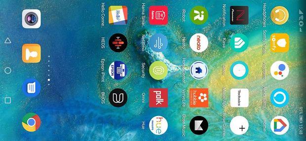 aplikacje urządzeń kompatybilnych z systemami Google Home i Amazon Alexa