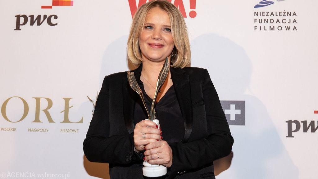 Joanna Kulig z Orłem 2019 za najlepszą rolę kobiecą w 'Zimnej wojnie'