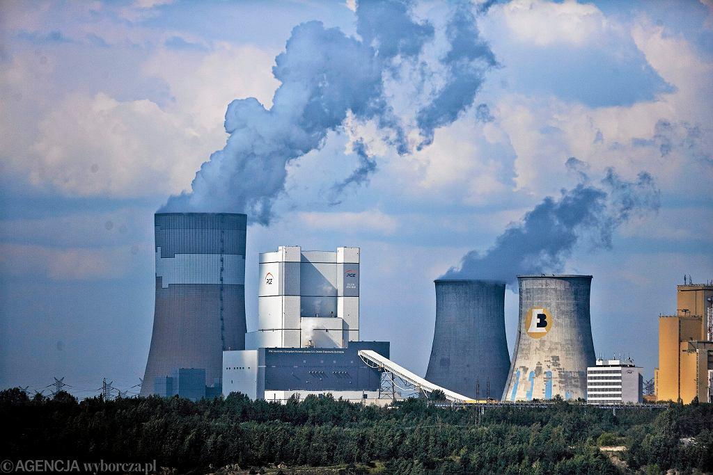 Elektrownia Bełchatów należąca do PGE