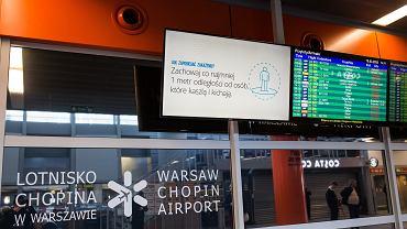 Na lotnisko Chopina przylatują Polacy wracający z zagranicy