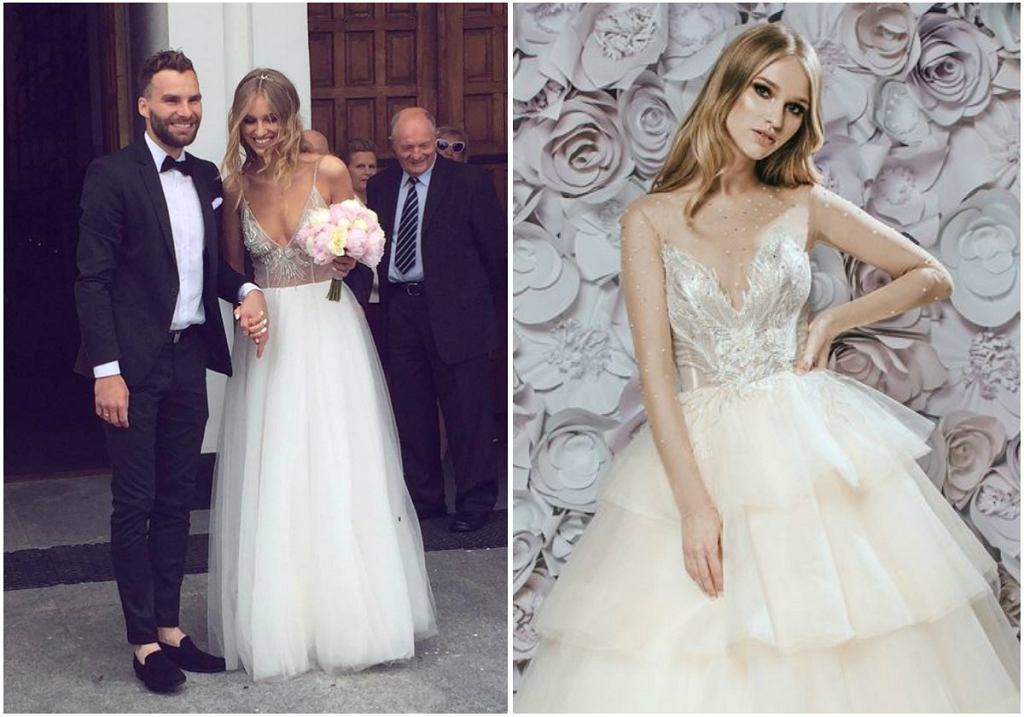 Kolekcja ślubna Laurelle 2018 - w lookbooku wystąpiła Ada Daniel z 'Top Model'. Modelka sama wzięła ślub w kreacji tej marki