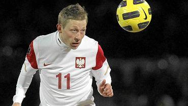 Rafał Murawski to dziś podstawowy reprezentant Polski